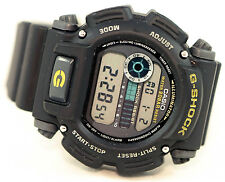 Casio DW9052-1B Mens G-Shock Chronograph Watch 200M WR Resin Black Sports