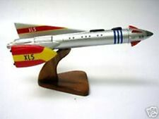 Fireball XL-5 Rocket Airplane Dried Desk Wood Model Small New