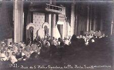 # CITTA' DEL VATICANO: 1922 BASILICA DI S. PIETRO APERTURA DELLA PORTA SANTA