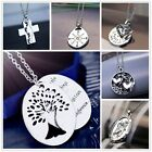 2015 Family Members Enlish Proverbs Love Letter Necklace Pendant special Gift