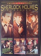 Sherlock Holmes Classics Triple Feature: Murder at the Baskervilles/A Study...