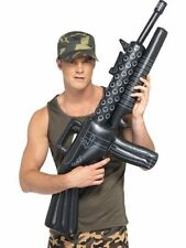 Inflatable Machine Gun AK47 Soldier Fancy Dress Army Party Accessory COD