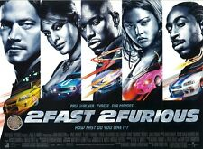 2Fast 2Furious movie poster : Paul Walker poster Tyrese : Fast and the Furious
