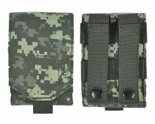 ACU MOLLE Tactical Cordura Mobile Phone Smartphone Cell Belt Pouch Bag Case L