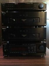 Sony TA-E1000ESD 2 x TA-N55ES ST-S505ES Amplifier Power Amp Tuner Very Rare