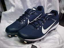 Nike Air Clipper '17 Baseball Metal Cleats Navy/White 880261-414 Size 10