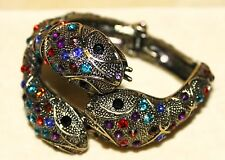 Snake Gothic Boho Goth Tribal Cleopatra Belly Dance Dancing Bracelet Bangle Cuff