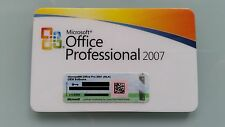 Office 2007 Professional MLK v2 versione completa Pro inglese English incl. Access
