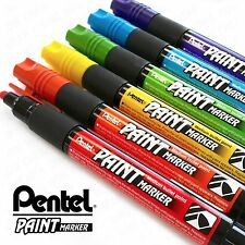 Pentel Cellulose Paint Marker - Medium Bullet Tip - MMP20 - 6 Pen Tropical Range