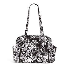 VERA BRADLEY MAKE A CHANGE BABY BAG IN MIDNIGHT PAISLEY BLACK AND WHITE NWT