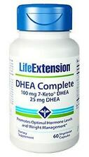 2X $27.99 Life Extension DHEA Complete 100 mg 7-Keto + 25 mg DHEA weight control