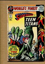 World's Finest #205 - Computer that Captured a Town - 1971 (Grade 7.5) WH