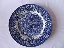 Royal Tudor Ware Ironstone 25cm Plate Hand Engraved By W N Mellor