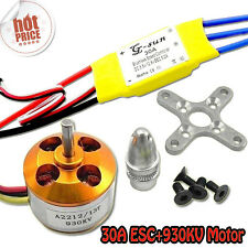 30A controller ESC+930KV Brushless Motor A2212 for 4 Axis Multi Quadcopter F