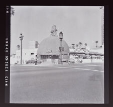 The Brown Derby Restaurant Original Wilshire Boulevard L.A. 1950's Film Negative