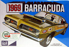 MPC 1/25 1969 Plymouth Barracuda Customizing Kit Plastic Model Kit 832