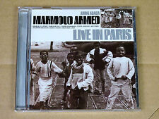 CD Mahmoud Ahmed - Live In Paris - CNR Music 1997 (Ethiopiques)