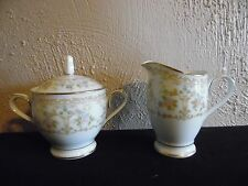 Noritake Long Ago Cream & Sugar Set  2757
