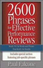 2600 Phrases for Effective Performance Reviews: Ready-to-Use Words and Phrases T