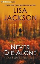 Never Die Alone by Lisa Jackson (2016, CD, Abridged)