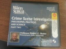 Crime Scene Investigation: Philosophy, Practice,and Science Part 2 includes pdf