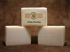 Homemade Soap LARD & LYE Simple Man  Handmade Soap  Sundance Soapery  Laundry