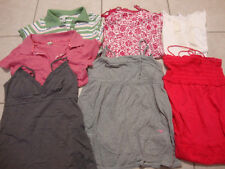 13 LOT JUNIORS AMERICAN EAGLE, HOLLISTER, ABERCROMBIE PINK tank tops & shirts, m