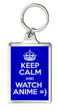 KEEP CALM AND WATCH ANIME KEYRING LLAVERO