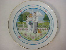 Lasting Memories Today, Tomorrow, & Always Wedding Fine Porcelain Plate