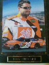 Tony Stewart Picture Photo Plaque NASCAR Driver #20  HOME DEPO 10.5X13