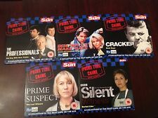 Silent Witness, Dempsey Makepeace, Cracker, Professionals, Prime Suspect x 5 DVD