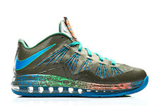 Nike Air Max LeBron 10 X Low Swamp Thing Reptile size 13. 579765-301 what the se
