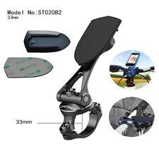 ST020B2: Metal Bicycle Stem Cap, Handlebar Mount for GPS SmartPhone, 33mm ver