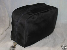 NEW BOBBI BROWN BLACK NYLON MAKE UP BAG, NO BOX