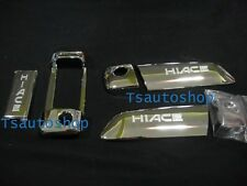 2sets CHROME 3DR HANDLE HAND COVER TRIM FOR VAN TOYOTA HIACE COMMUTER 2005-2013