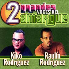 Raulin Rodriguez & Kiko 2 Grandes Voces Del Amargue CD