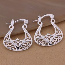 925 BEAUTIFUL SILVER CRETAN MINOAN GODDESS BULL HORNS DROP EARRINGS CHRISTMAS
