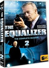 THE EQUALIZER TV SERIES THE COMPLETE SEASON 2 New Sealed 6 DVD Set
