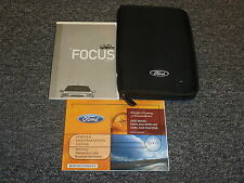 2005 Ford Focus Owner Owner's Manual ZX3 ZX4 ZX5 ZXW S SE SES ST 2.0L Hatchback