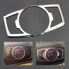 Stainless Steel Headlight Switch Controller Knob Trim Cover Fit Ford Focus Edge
