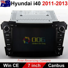 "7"" Car CD DVD Player GPS Navigation Stereo Radio For Hyundai i40 2011-2013"