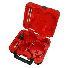 Milwaukee 49-56-9080  8pc Plumbers Big Hawg Hole Saw Set