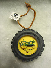 Enesco  John Deere   Waterloo Boy Tractor  Holiday Ornament   NIB  (9)
