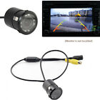 Night Vision Waterproof CMOS Car Rear View Reverse Backup Parking Camera 7 LED