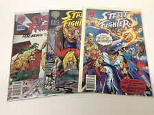 STREET FIGHTER #1-3 (MALIBU/VIDEO GAME/FINISH HIM!0715476) COMPLETE SET LOT OF 3