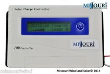 solar panel charge controller PWM 40 amp 12 / 24 volt DC for solar panels pv