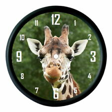 GIRAFFE WALL CLOCK - ANIMAL LOVER PHOTO GIFT