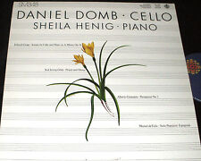 Daniel Domb CELLO  Sheila Henig PIANO Canadian Broadcasting RARE CBC LP