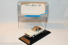 . MINICHAMPS MERCEDES BENZ 350SL 350 SL CABRIOLET SOFT TOP CLOSED MINT BOXED
