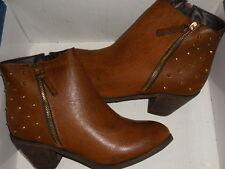 Diba  M Bellish Cognac Brown Ankle Boots Wo's SZ 10 (EUR 40)